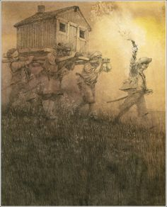 çizgili masallar: Peter Pan and Wendy by Robert Ingpen Peter Pan, Peter And Wendy, Pan An, John Bauer, Art Story, Children's Book Illustration, Book Illustrations, Neverland, Line Drawing