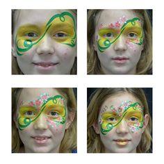 Face Painting Flowers, The Face, Paint Shop, Make Up, Beauty, Mardi Gras, Fantasy Makeup, Faces, Artists