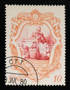 Italy Stamp 1942  - Galileo Galilei