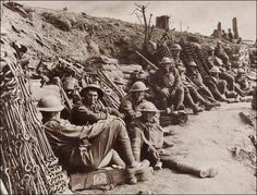 Frank Hurley: The Day Before the Battle: A dump of Material Accumulated in Advanced Position