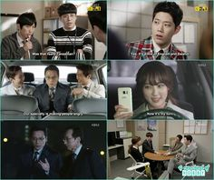 chairman park hyun do  son help business account people and Ga Eun help chief and seo yeol catching the person who is hiding things for chairman hyun do - Chief Kim: Episode 19