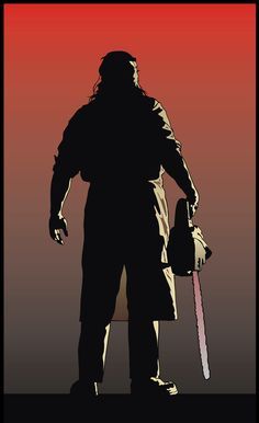 """vector based fan art from """"Texas Chainsaw Massacre"""" done in corel draw"""