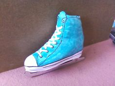 Make your own skate boot covers with our PDF pattern…
