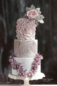 RALPH & RUSSO INSPIRED WEDDING CAKE TEXTURES TUTORIAL