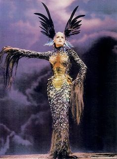 Thierry Mugler Haute Couture FW 1997 | Flickr - Photo Sharing!