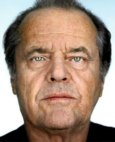 Portrait of Jack Nicholson by Martin Schoeller