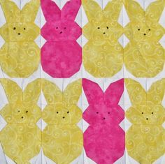 Free Pattern Day: Easter and Spring Quilts !