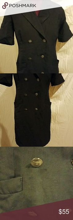 Size 2 black dress uniform