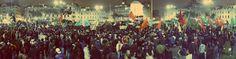"""Spacio Libre estuvo presente en la marcha #tomalacalle #22J en protesta a la """"repartija"""" realizada por el Congreso para la elección de los miembros del Tribunal Constitucional, la Defensoría del Pueblo y el Banco Central de Reserva / Foto: Diego Vertiz."""