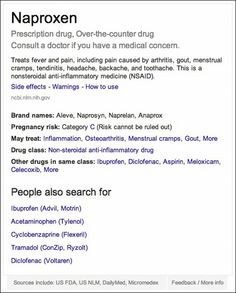Google is making it easier to look up your meds