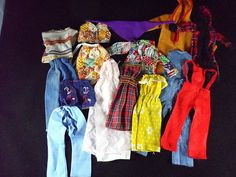 Lot of 15 vintage handmade mattel barbie doll #clothes #fashion #dresses pants to,  View more on the LINK: 	http://www.zeppy.io/product/gb/2/162316837723/