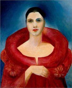 Tarsila do Amaral - Self Portrait, 1923 - Belas Artes, Rio de Janeiro (1886-1973)