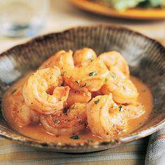 Buttery Lemon Shrimp #recipe #Shrimp #lemon