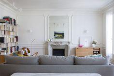 Apartamento em Paris ganha fluidez e  luz natural