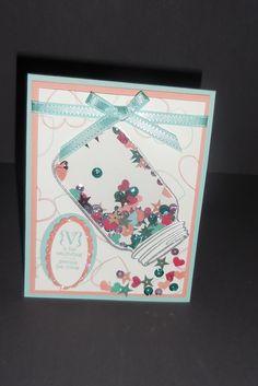 Shaker Card Valentine