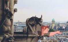 The Hunchback of Notre Dame - Notre-Dame de Paris, Paris.