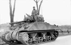 M4 captured by Germans 1944, March, Nettuno.