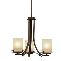 Kichler Lighting 1671 3 Light Hendrik Chandelier