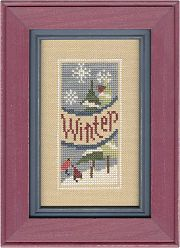 "Lizzie Kate - Cross Stitch Kits (Page 2) - 123Stitch.com A RATHER FUN ""WINTER"" KIT."