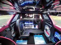 The inside of the MINI LIMO.. WOW? Love it!