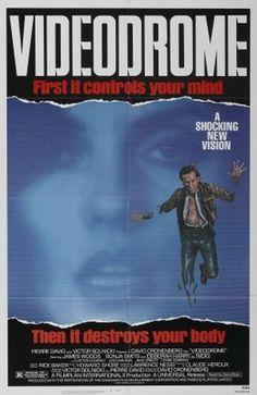 Videodrome (1983) movie #poster, #tshirt, #mousepad, #movieposters2