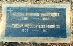 Gloria Morgan Vanderbilt - - Find A Grave Photos West With The Night, In Memorian, Poor Little Rich Girl, Wallis Simpson, Old Adage, Anderson Cooper, Famous Graves, Rich Family, Happy Trails