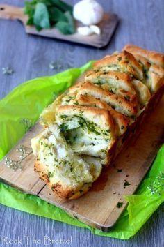 pain mozzarella ail et persil plat Plus