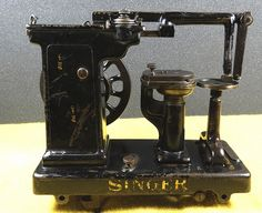 Singer 46K14 sewing machine (for leather gloves)