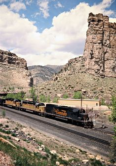 Denver and Rio Grande Western Railroad by John F. Bjorklund – Center for Railroad Photography & Art Railroad Photography, Art Photography, Colorado, Castle Gate, Railroad Pictures, Southern Railways, Train Pictures, Train Journey, Rio Grande