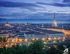 #Torino moderna ma allo stesso tempo ricca di #storia. Scopri la nostra prima #capitale!  #Turin a modern city, but also rich with #history. Discover the first italian #capital! #Alitalia #destination #travel #discover #Italy #culture #view