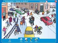 Sneeuw en gladheid - Verkeersplaat / Netwijs.nl - Maakt je wereldwijs