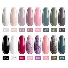 Merchandise Included: MEFA 16 * Gel Polish + Coat bottle) With Present Wrapped. Coloration Gel: With 16 Gel colours that intentionally chosen and primarily based on Gel Polish Manicure, Soak Off Gel Nails, Dry Nails, Nail Polish Sets, Manicure And Pedicure, Nail Remover, Nail Art Salon, Led Nail Lamp, Nail Art For Beginners