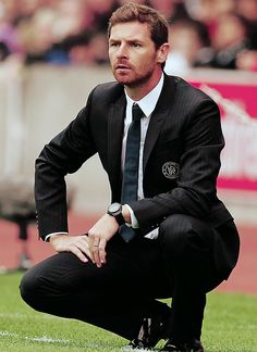 Andre Villas-Boas, clearly the best-looking manager in the Premier League