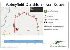 Abbeyfield Duathlon - Run Route | Events Logic UK | Be Part Of It!