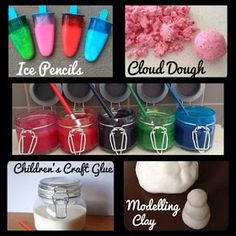 Children craft material with Thermomix