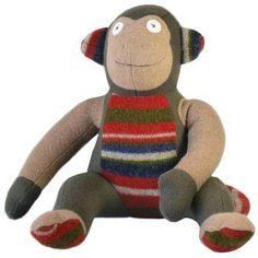 Cate and Levi Softy Monkey Stuffed Animal