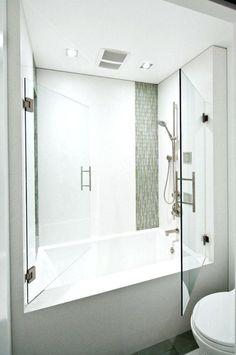 25 Best Ideas About Tub Shower Combo On Pinterest Bathtub And Showerdeep Combination  Deep Bath