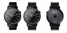 Elephone ELE smartwatch: affordable, round and feature-packed