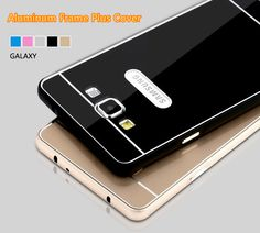 Metal Gold Cases Or Covers With Frame For 2017 Samsung Galaxy S6 SG605_6