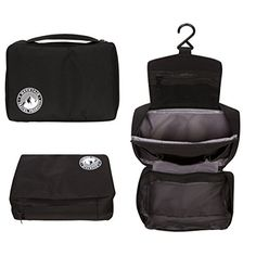 Hanging Toiletry Bag Shaving Kit and Toiletries Organizer by 3 Mountain Travel Black  -- For more information, visit image link. (Note:Amazon affiliate link)