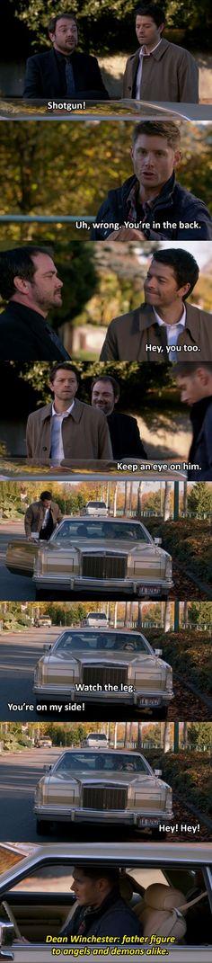 Gotta Love Dean... Lol