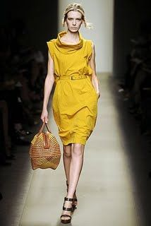 yellow dress BV