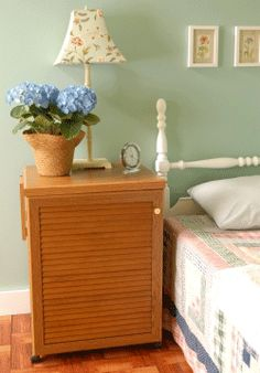 Sewnatra Sewing Cabinet By Arrow Closed Doubles As Nightstand For Guest  Bedroom