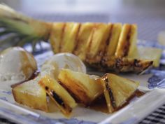 Grilled Pineapple recipe from Trisha Yearwood via Food Network (Season 6/Family Grilling and Chilling)