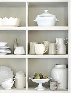 white: perfect collection of white pottery by MariaVictoria