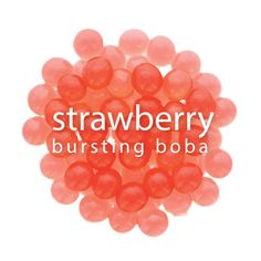 Add the sweet, fresh taste of strawberries to your bubble teas and desserts with our Bursting Boba®. Each translucent boba ball is filled with bright berry flavor and a scrumptious texture, bringing t Best Smoothie Recipes, Fruit Smoothie Recipes, Tea Recipes, Healthy Smoothies, Detox Smoothies, Drink Recipes, Healthy Meals, Recipies, Boba Smoothie