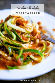 Zucchini Lasagne, Vegan Zucchini, Gnocchi, Fall Recipes, Low Carb, Food And Drink, Veggies, Snacks, Cooking