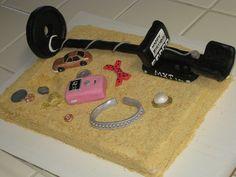 metal detector cakes | metal detector cake