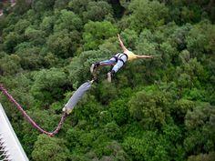 Adrenaline rush at Monterrey, Bungee Cola de Caballo ! Maps, Ponytail