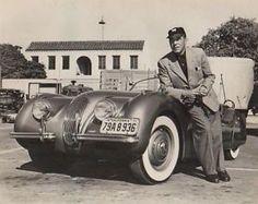 Humphrey Bogart - Jaguar xk120